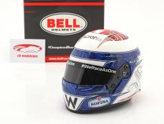 Nicholas Latifi #6 Williams Racing Formel 1 2021 Helm 1:2 Bell