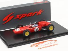 Lotus 21 #31 3ª Ollon-Villars Escalar a colina 1962 Jim Clark 1:43 Spark