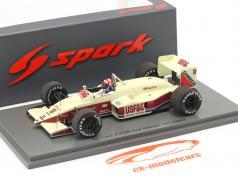 Eddie Cheever Arrows A10B #18 Tercero italiano GP fórmula 1 1988 1:43 Spark