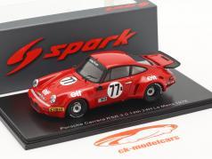 Porsche 911 Carrera RSR #77 Sieger IMSA GT-Klasse 24h LeMans 1976 1:43 Spark