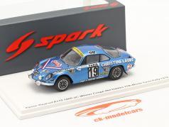 Alpine-Renault A110 1800 # Winner Coupe des Dames Rallye Monte Carlo 1976 1:43 Spark