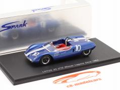 Lotus 23 #10 Vencedora Laguna Seca 1963 Parsons 1:43 Spark