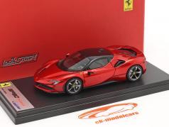 Ferrari SF90 Stradale Ano de construção 2019 fogo vermelho 1:43 LookSmart