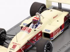 Eddie Cheever Arrows A10B #18 3番目 イタリアの GP 式 1 1988 1:43 Spark