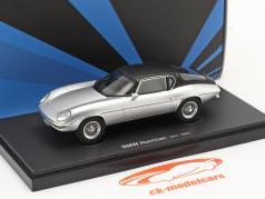 BMW Hurrican bouwjaar 1964 zilver / zwart 1:43 AutoCult