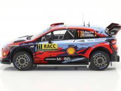Hyundai i20 Coupe WRC #11 Vencedora Rallye Catalunya 2019 Neuville, Gilsoul 1:18 Ixo