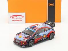 Hyundai i20 WRC #11 2ª Rallye Monte Carlo 2019 Neuville, Gilsoul 1:24 Ixo