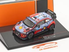 Hyundai i20 Coupe WRC #8 Vencedora Rallye Estônia 2020 Tänak, Järveoja 1:18 Ixo