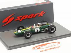 Pedro Rodriguez Lotus 72F #2 Frankreich GP Formel 1 1966 1:43 Spark