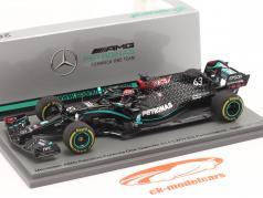 George Russell Mercedes-AMG F1 W11 #63 Noveno Sakhir GP fórmula 1 2020 1:43 Spark