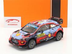 Hyundai i20 Coupe WRC #19 4º Rallye Catalunya 2019 Loeb, Elena 1:18 Ixo