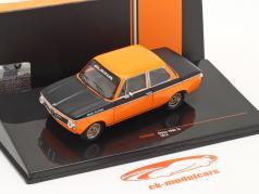 BMW Alpina 2002 Tii Baujahr 1972 orange / schwarz 1:43 Ixo
