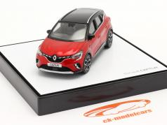 Renault Captur Byggeår 2020 rød / sort 1:43 Norev