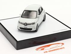 Renault Twingo generazione 3 Lifting facciale 2019 bianca 1:43 Norev