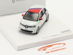 Renault Twingo 世代 3 沿って Le Coq Sportif 2019 白い / 赤 / 青 1:43 Norev