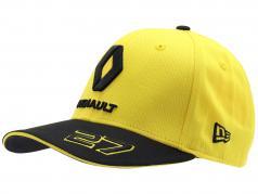 Cap Renault F1 Team 2019 #27 Hülkenberg желтый / чернить размер M / L