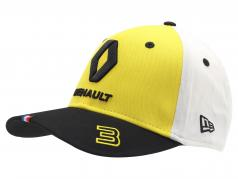 Cap Renault F1 Team 2019 #3 Ricciardo geel / zwart / Wit grootte M / L
