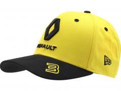 Шапка Renault F1 Team 2019 #3 Ricciardo желтый / чернить размер M / L