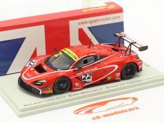 McLaren 720S GT3 #22 3-й Британский GT Чемпионат 2019 Balfe, Bell 1:43 Spark