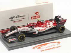 A. Giovinazzi Alfa Romeo Racing C39 #99 Emilia-Romagna GP 式 1 2020 1:43 Spark