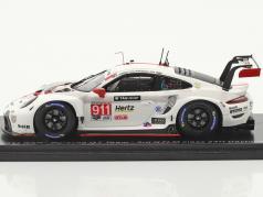Porsche 911 RSR #911 3. GTLM klasse 24h Daytona 2020 Porsche GT Team 1:43 Spark
