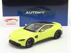 Aston Martin Vantage 建设年份 2019 酸橙 绿色 1:18 AUTOart
