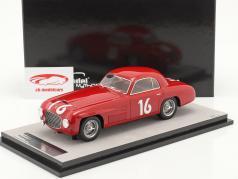 Ferrari 166S Coupe Allemano #16 Winner Mille Miglia 1948 1:18 Tecnomodel