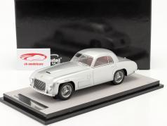 Ferrari 166S Coupe Allemano Street version 1948 silver metallic 1:18 Tecnomodel