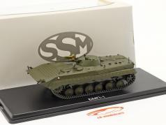 BMP-1 Militär (CZ) Schützenpanzer dunkeloliv 1:43 Start Scale Models