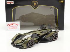 Lamborghini V12 Vision GT oliv grün / schwarz 1:18 Maisto