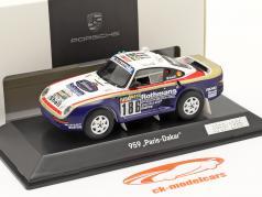 Porsche 959 #186 勝者 Rallye Paris - Dakar 1986 Metge, Lemoyne 1:43 Spark