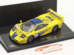 McLaren F1 GTR #27 6日 FIA GT Championship Spa 1997 Goodwin, Ayles 1:43 Ixo
