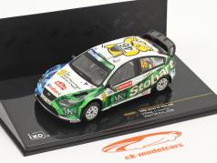 Ford Focus RS WRC #46 Wales GB ралли 2008 Rossi, Cassina 1:43 Ixo
