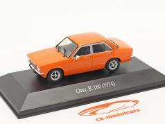 Opel K 180 4-türig Baujahr 1974 orange 1:43 Altaya