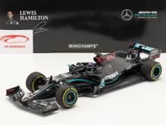 L. Hamilton Mercedes-AMG F1 W11 #44 vincitore Stiria GP formula 1 Campione del mondo 2020 1:18 Minichamps