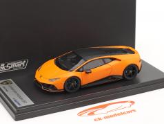 Lamborghini Huracan Evo Fluo Capsule 2020 esteira laranja 1:43 LookSmart