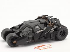 Batmobiel Film The Dark Knight (2008) zwart 1:24 Jada Toys