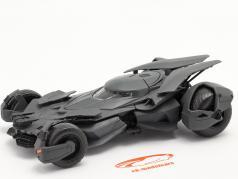 Batmobile Film Batman v Superman Dawn Of Justice (2016) zwart 1:24 Jada Toys