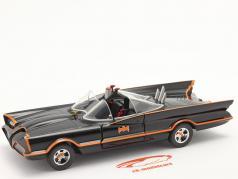 Batmobil TV-Serie Batman (1966) schwarz 1:24 Jada Toys