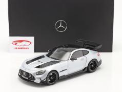 Mercedes-Benz AMG GT (C190) Black Series 2020 high-tech silver 1:18 Norev