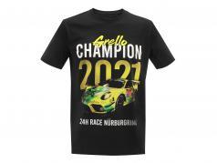 Manthey Racing Grello T-Shirt チャンピオン 24h Nürburgring 2021