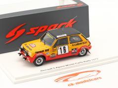Renault 5 Alpine #16 Octavo Rallye Monte Carlo 1979 Frequelin, Delaval 1:43 Spark