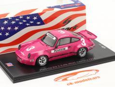 Porsche RS 3.0 #3 4位 IROC Daytona 1974 D. Pearson 1:43 Spark