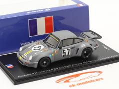 Porsche 911 Carrera RSR #57 Sieger GT-Klasse 1000km Le Castellet 1974 1:43 Spark
