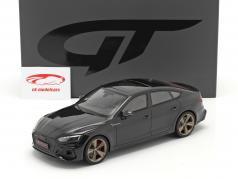 Audi RS5 (B9) Sportback Año de construcción 2020 negro 1:18 GT-SPIRIT