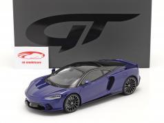 McLaren GT year 2019 dark blue 1:18 GT-SPIRIT