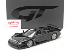 Mercedes-Benz CLK-Klasse GTR Roadster Año de construcción 1998 negro 1:18 GT-SPIRIT