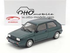 Volkswagen VW Golf G60 Rallye 建設年 1990 濃い緑色 1:18 OttOmobile