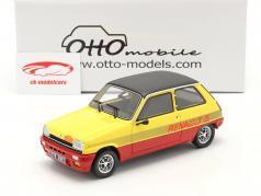 Renault R5 TS Montecarlo Byggeår 1978 rød / gul / sort 1:18 OttOmobile