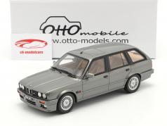 BMW 325i (E30) Touring Año de construcción 1991 gris metálico 1:18 OttOmobile